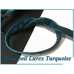 Passepoil En Lurex Argent Pour Finitions Et Bordure De Vetements