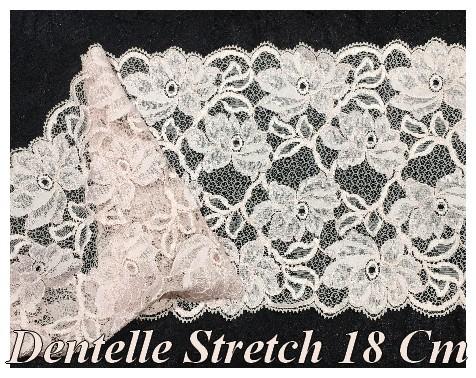 Stretch Dentelle Tissu Maillé-Vendu par Mètre