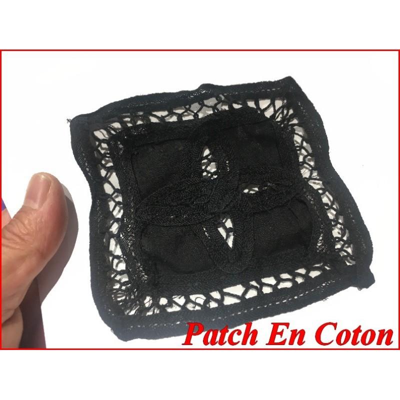 Motif Patch En Coton Choco A Coudre Pour Customisationsn