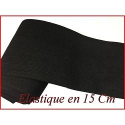 Elastique En 15 Cm De Large Blanc Au Mètre Pour La Couture.
