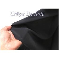 Crêpe De SOIE Bleu Marine Au Mètre Couture.