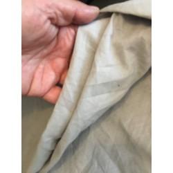 Tissu Popeline Grise En Coton Au Mètre En Grande Largeur