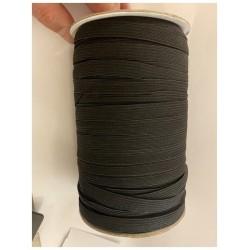 Elastique Plat En 10 mm Noir Au Mètre Pour La Couture