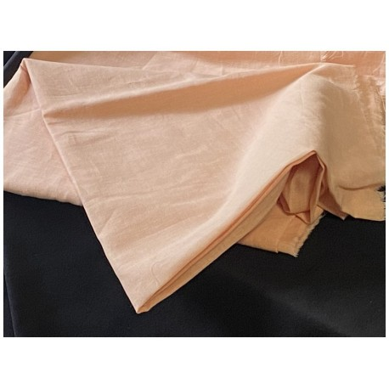 Tissu Coton Saumon Au Mètre En Grande Largeur