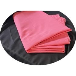 Tissu Coton Fuschia Au Mètre En Grande Largeur