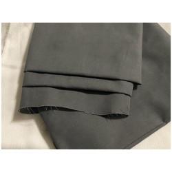 Tissu Coton Gris Poivre Au Mètre En Grande Largeur