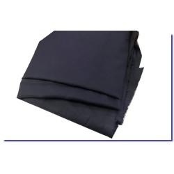 Tissu Coton Bleu Marine En Coton Au Mètre En Grande Largeur