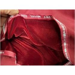 Tissu Velours Bordeaux En Grande Largeur Pour Vetements Et Ameublement