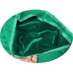 Tissu Velours Vert En Grande Largeur Pour Vetements Et Ameublement