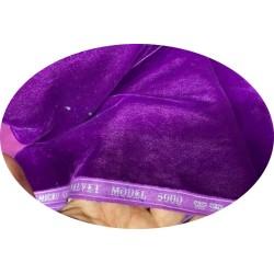 Tissu Velours Violet En Grande Largeur Pour Vetements Et Ameublement