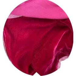 Tissu Velours Fuschia En Grande Largeur Pour Vetements Et Ameublement