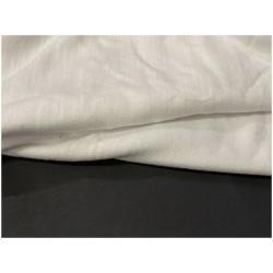 Tissu Jersey Coton Lycra Blanc au mètre A Coudre