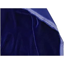 Tissu Velours Bleu Royal En Grande Largeur Pour Vetements Et Ameublement