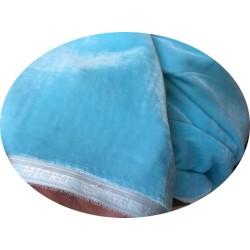 Tissu Velours BLEU CIEL En Grande Largeur Pour Vetements Et Ameublement