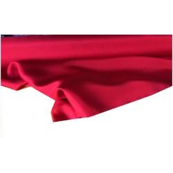 Tissu Pongé De Soie Rouge Uni Au Mètre Couture.