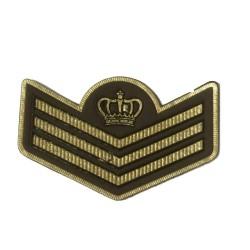 Ecusson EPaulette Emblème Militaire A Coudre