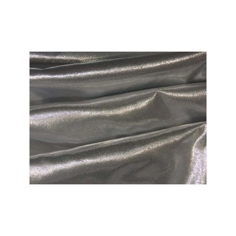 tissu lamé laser au mètre en couleur argent lurex.