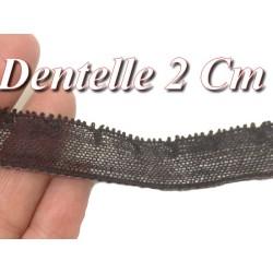 Dentelle Au Mètre Couture En 1.8 Cm Noir A Coudre.