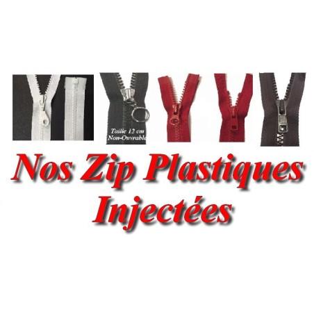 Zip Fermeture Eclair A Glissière En Maille Plastique Injecté A Coudre En Toutes Tailles Et Couleurs