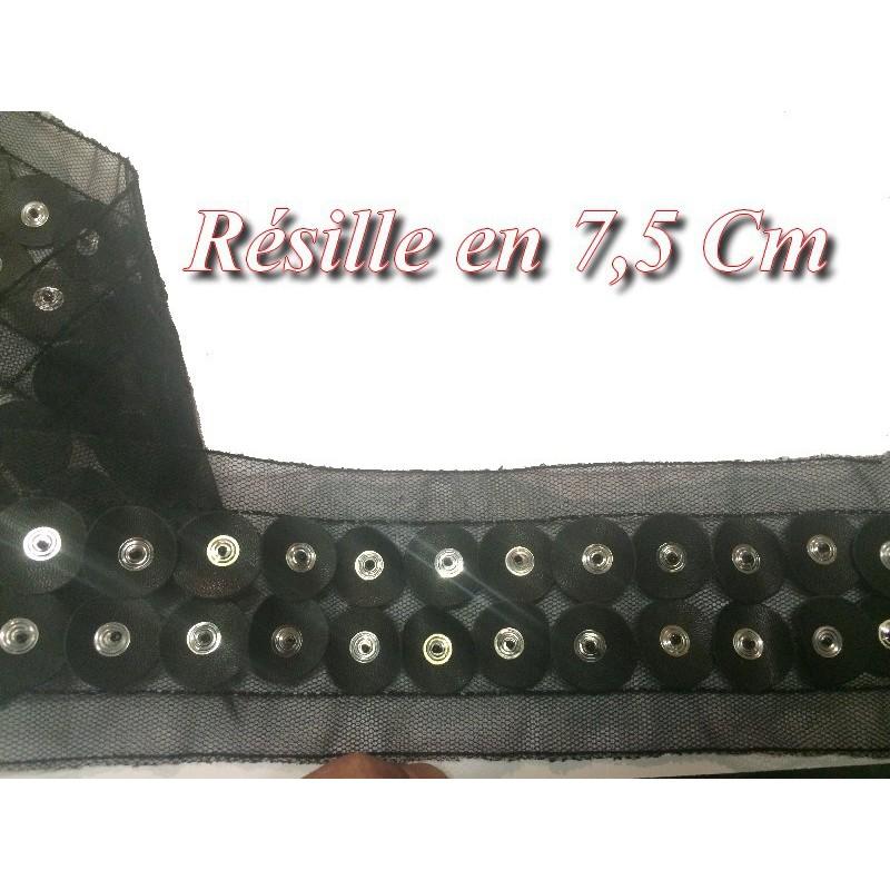 Ruban Résille au Mètre en 6 cm Ecru à Coudre, pour Loisirs Créatifs