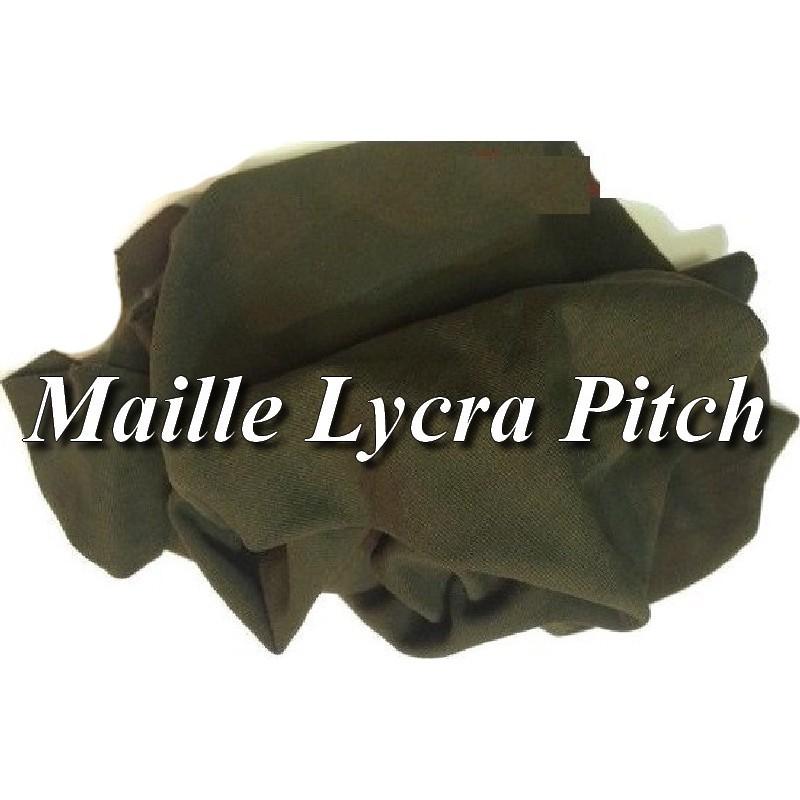 Tissu Lycra Maille Pitch Kaki Au Mètre A Coudre pour Confection.