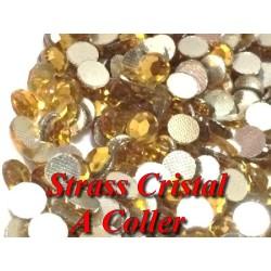 Strass Cristal A Coller En 6 mm Pour Décorations, Loisirs Créatifs