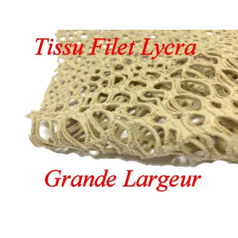 Tissu Filet Lycra Fantaisie En Grande Largeur, Lingerie Et Customisations.