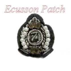 Ecusson Couture Perle A Coudre Pour Customisations.