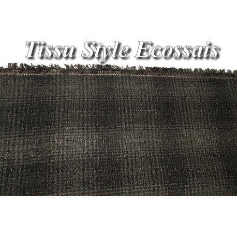 tissu au m tre pour la couture en laine et soie noir et un beau touch. Black Bedroom Furniture Sets. Home Design Ideas