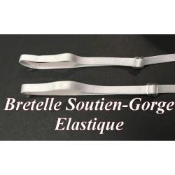 Bretelle Soutien Gorge en 6 mm Blanc Pour lingerie Et Vetements