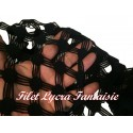 Tissu Filet Au Mètre En Lycra Noir En Grande Largeur, Lingerie Et Customisations.