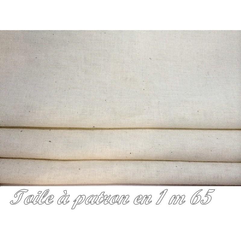 Tissu Toile A Patron Au Mètre Couleur Ecru En 1 Mètre 50 De Largeur Pour Patronnage Et Couture
