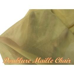 Doublure Couleur Chair En Maille Au Mètre Pour Vetements Et confections.