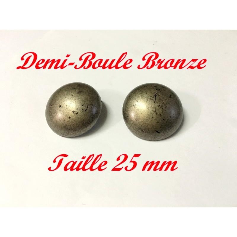 Bouton A Coudre En Couleur Bronze En Taille 25 mm Pour Vetements Et Customisations