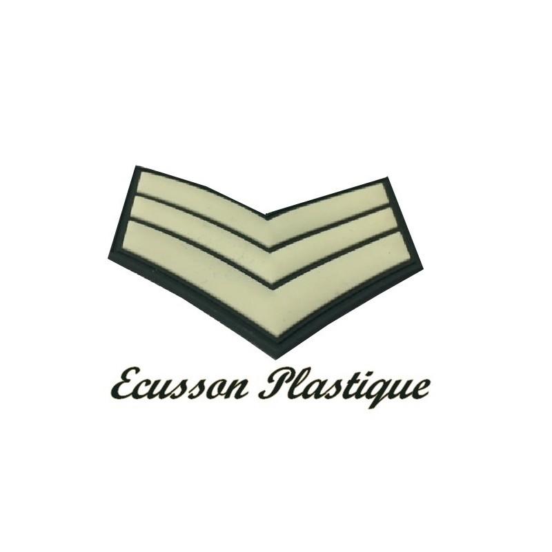 Ecusson EPaulette Emblème Militaire En Plastique A Coudre.