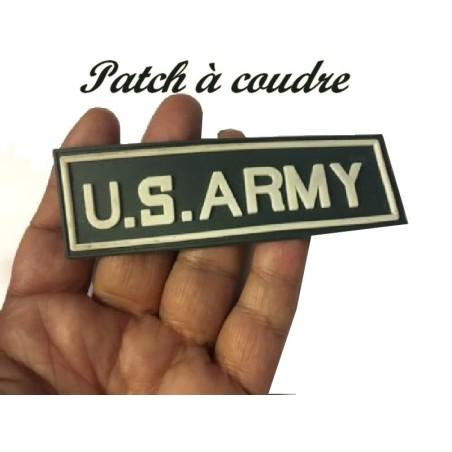 """Ecusson EPaulette Emblème Militaire"""" US .ARMY """"En Plastique A Coudre."""