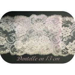 Dentelle Couture En 13 Cm Couleur Parme A Coudre pour loisirs Créatifs Et Décorations.