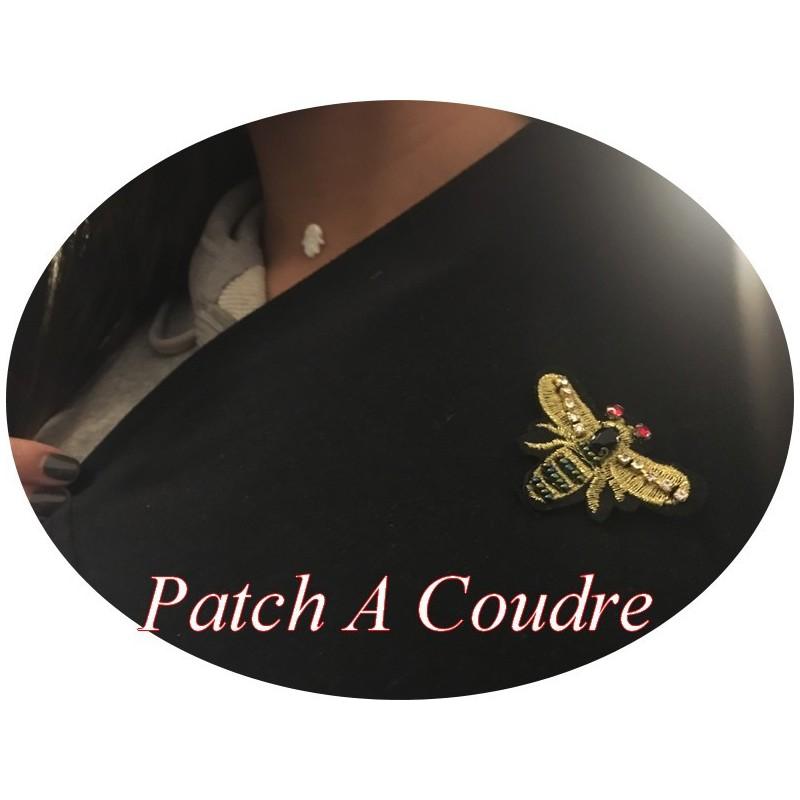 Patch A Coudre En Forme De Papillon pour Décorations Et Customisatiions.