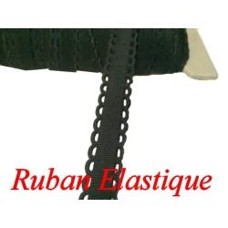 Galon Ruban Elastique En 12 mm Féstonné, pour lingerie, et Customisations.