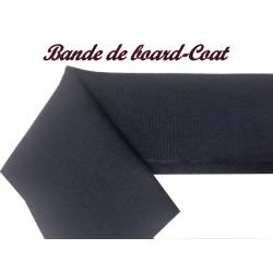 Bande De Bord-Cote En Tissu Jersey Bleu Marine Elastique Pour Poignée Manche et Bas de Blousons