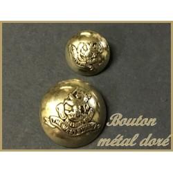 Bouton Doré Métal Pour Blazer En Taille 18 mm à Coudre Pour Customisationsde De Vetements et