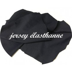 Tissu jersey Lycra Viscose Couleur Bleu Marine A Coudre