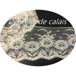 Dentelle De Calais Ivoire En 6,5 Cm A Coudre Pour Robe De Mariage, Et Décorations.