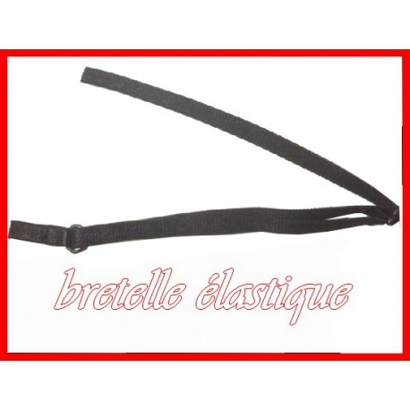 vraie qualité moins cher baskets Bretelle Elastique Soutien Gorge en 7 mm Noir ou Blanc.