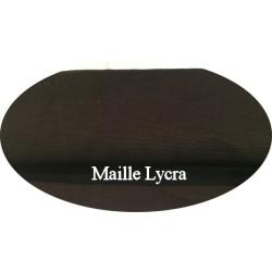 Tissu Jersey Lycra Maille Milano Marron Choco